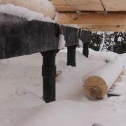 Строительство бани в Борском районе