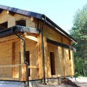 Строительство дома из клееного бруса в Ильино-Заборском