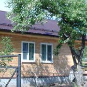 Дачный дом из клееного бруса в Сартаково