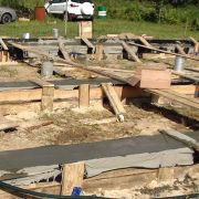Строительство фундамента Деревянного дома в Богородском районе