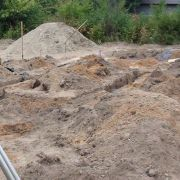 Монтаж фундаментов для дома из бруса в Борском районе