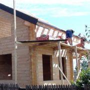 Строительство дачного дома из клееного бруса в Раменском районе